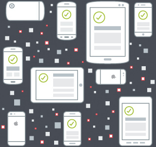 Multiple mobile devices for testing